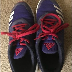 Purple Adidas Sneakers for girls size US 4